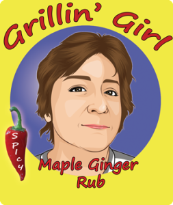 Maple Ginger Rub